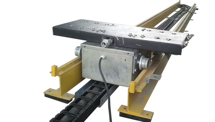 Under Chassis Wash Sliding Swiveling Automatic Car